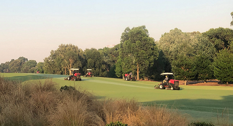 Greenkeepers at the Australian