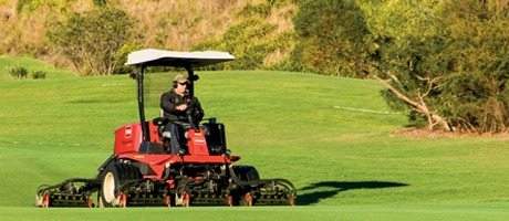New corporate image_golf_mower