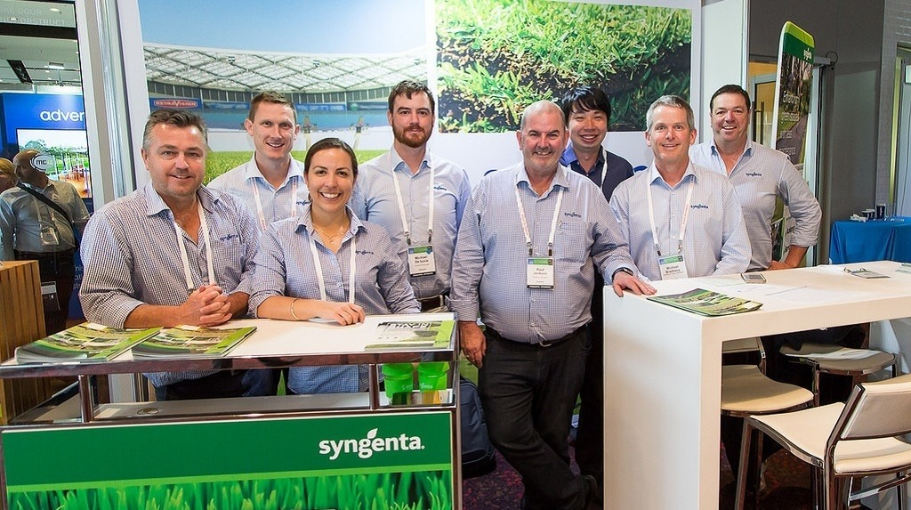 Syngenta Team at ILPC2018 Stand