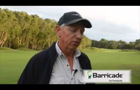 Gary Topp, Twin Waters Golf Club, QLD, Barricade Herbicide